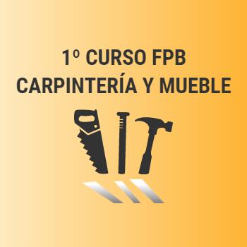 1º FPB Carpintería y Mueble