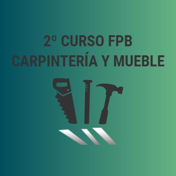 2º FPB Carpintería y Mueble